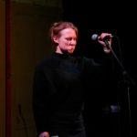 Hannah Geheimsein im Finale beim TIPS Fem Slam September 2018 im Beyerhaus