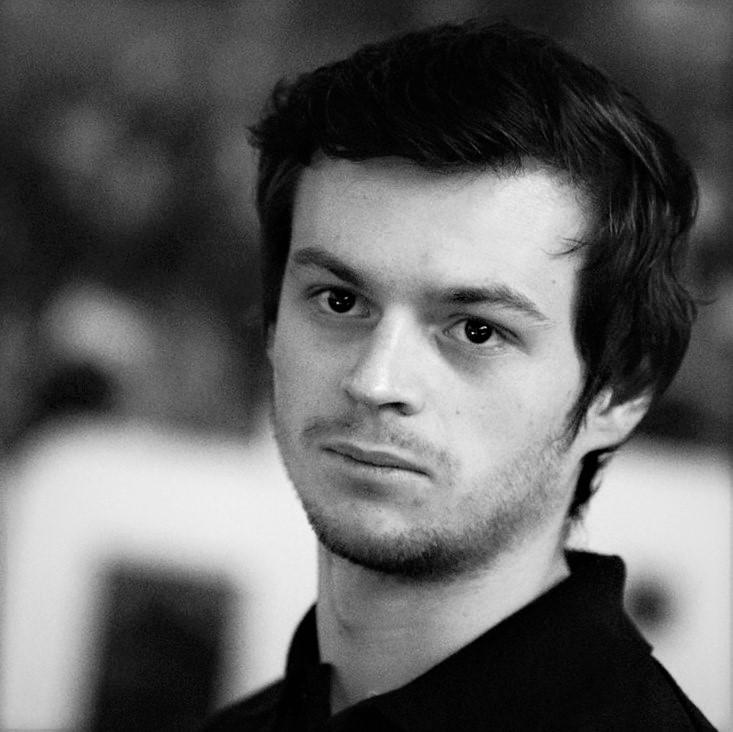 Kameramann und Filmer des Topic Slam Johannes Schneider